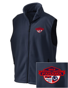 Panama Soccer Embroidered Unisex Wintercept Fleece Vest