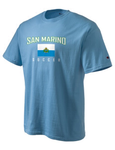 San Marino Soccer Champion Men's Tagless T-Shirt