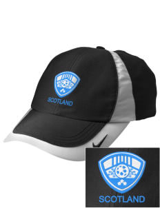 Scotland Soccer Embroidered Nike Golf Colorblock Cap