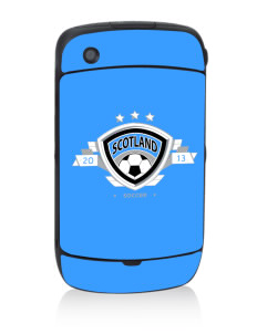 Scotland Soccer Black Berry 8530 Curve Skin