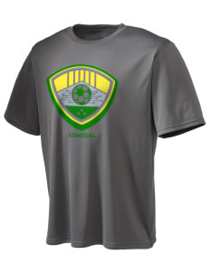 Senegal Soccer Champion Men's Wicking T-Shirt