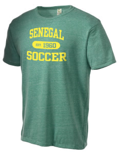 Senegal Soccer Alternative Men's Eco Heather T-shirt