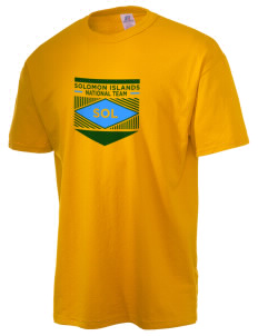 Solomon Islands Soccer  Russell Men's NuBlend T-Shirt