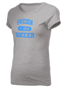 Sweden Soccer Holloway Women's Groove T-Shirt
