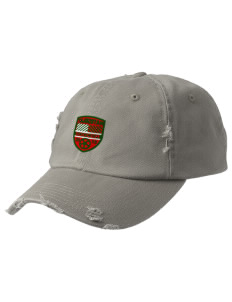 Tajikistan Soccer Embroidered Distressed Cap