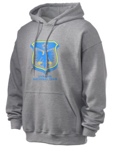 Ukraine Soccer Ultra Blend 50/50 Hooded Sweatshirt
