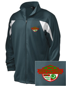 United Arab Emirates Soccer Embroidered Holloway Men's Full-Zip Track Jacket