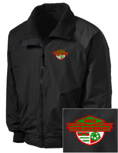 United Arab Emirates Soccer Embroidered Tall Men's Challenger Jacket