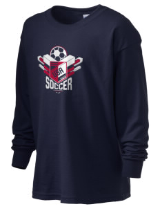 United States Soccer Kid's 6.1 oz Long Sleeve Ultra Cotton T-Shirt