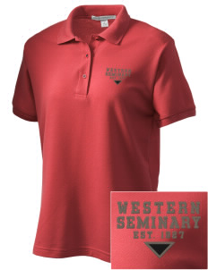 Western Seminary Est. 1927 Women's Embroidered Silk Touch Polo