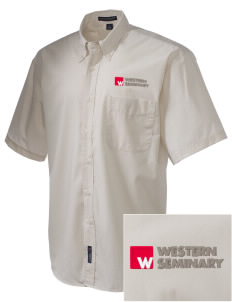 Western Seminary Est. 1927  Embroidered Men's Easy-Care Shirt