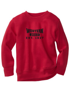 Western Seminary Est. 1927 Toddler Crewneck Sweatshirt