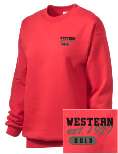 Western Seminary Est. 1927 Embroidered Unisex Crewneck Sweatshirt