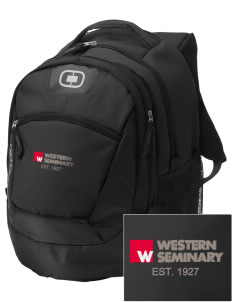 Western Seminary Est. 1927 Embroidered OGIO Rogue Backpack