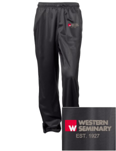 Western Seminary Est. 1927 Embroidered Women's Tricot Track Pants