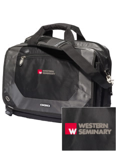 Western Seminary Est. 1927 Embroidered OGIO Corporate City Corp Messenger Bag