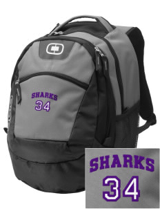 Mitchell Elementary School Sharks Embroidered OGIO Rogue Backpack