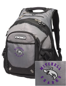 Mitchell Elementary School Sharks Embroidered OGIO Fugitive Backpack