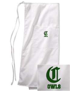 Camden Primary School Owls Embroidered Full Bistro Bib Apron