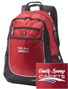 Emily Spong Elementary School Cadets Embroidered OGIO Carbon Backpack