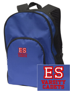 Emily Spong Elementary School Cadets Embroidered Value Backpack