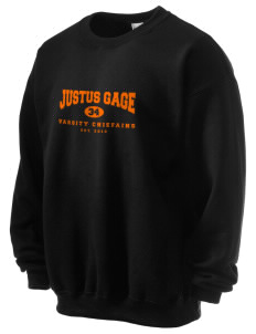 Justus Gage Elementary School Chiefains Ultra Blend 50/50 Crewneck Sweatshirt