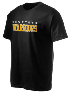 Downtown Middle School Warriors Hanes Men's 6 oz Tagless T-shirt