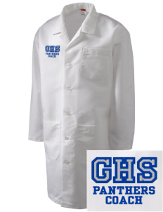 Gowanda School Panthers Full-Length Lab Coat
