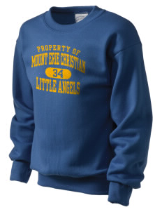 Mount Erie Christian Academy Little Angels Kid's Crewneck Sweatshirt