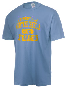 Mount Erie Christian Academy Little Angels  Russell Men's NuBlend T-Shirt