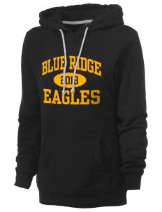 Blue Ridge Elementary School Eagles Women's Core Fleece Hooded Sweatshirt