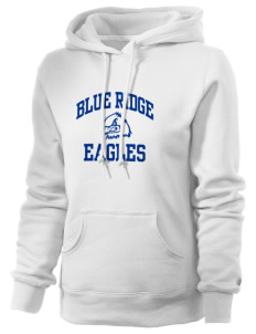 Blue Ridge Elementary School Eagles Russell Women's Pro Cotton Fleece Hooded Sweatshirt