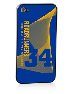 Rancho Vista Elementary School Roadrunners Apple iPhone 4/4S Skin