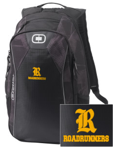 Rancho Vista Elementary School Roadrunners Embroidered OGIO Marshall Backpack