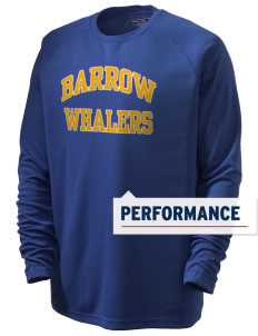 Barrow High School Whalers Men's Dry Zone Long Sleeve T-Shirt
