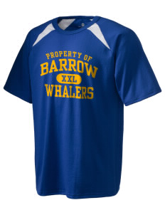 Barrow High School Whalers Holloway Men's Fan Gear T-Shirt