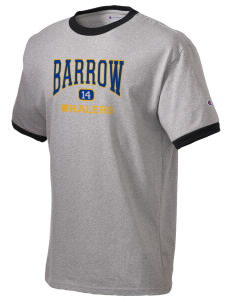 Barrow High School Whalers Champion Men's Ringer T-Shirt