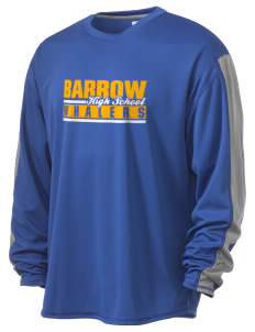 Barrow High School Whalers  Russell Men's Long Sleeve Everyday Performance T-Shirt
