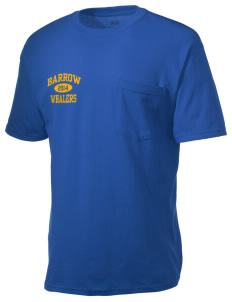 Barrow High School Whalers Men's American Classic Pocket T-Shirt