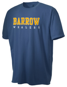 Barrow High School Whalers Men's Pigment-Dyed Vintage T-Shirt