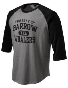 Barrow High School Whalers Men's Baseball T-Shirt