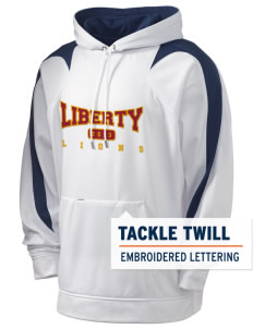 Liberty Alternative Education Center Lions Holloway Men's Sports Fleece Hooded Sweatshirt with Tackle Twill