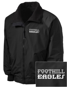 Foothill Middle School Eagles Embroidered Tall Men's Challenger Jacket