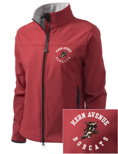 Kern Avenue Elementary School Bobcats Embroidered Women's Glacier Soft Shell Jacket