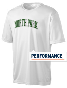 North Park Middle School Lancer Men's Competitor Performance T-Shirt