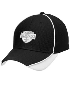North Park Middle School Lancer Embroidered New Era Contrast Piped Performance Cap