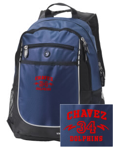 Chavez Elementary School Dolphins Embroidered OGIO Carbon Backpack