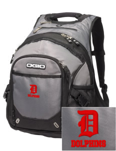 Chavez Elementary School Dolphins Embroidered OGIO Fugitive Backpack