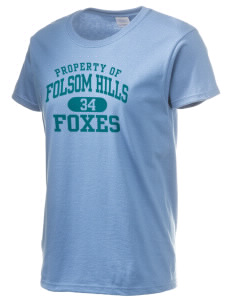 Folsom Hills Elementary School Foxes Women's 6.1 oz Ultra Cotton T-Shirt