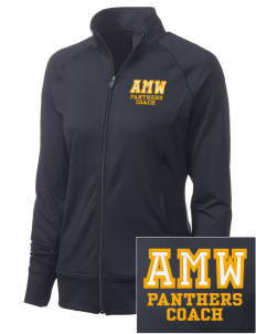 A M Winn Elementary School Panthers Women's NRG Fitness Jacket